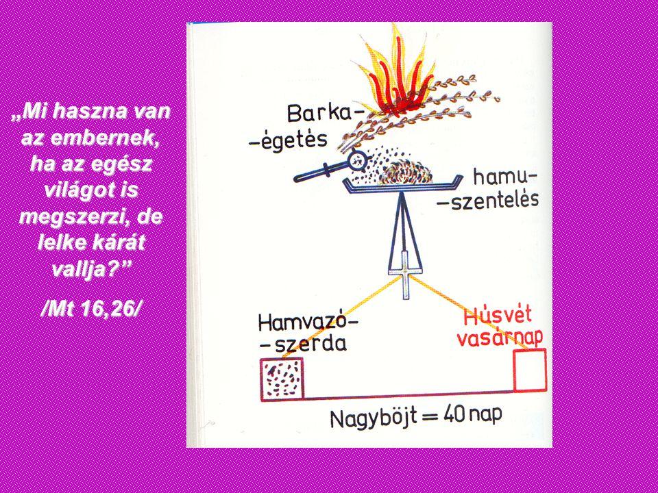 Nagyböjt 2011 …Kezdjük el együtt nagyböjt szent Idejét!