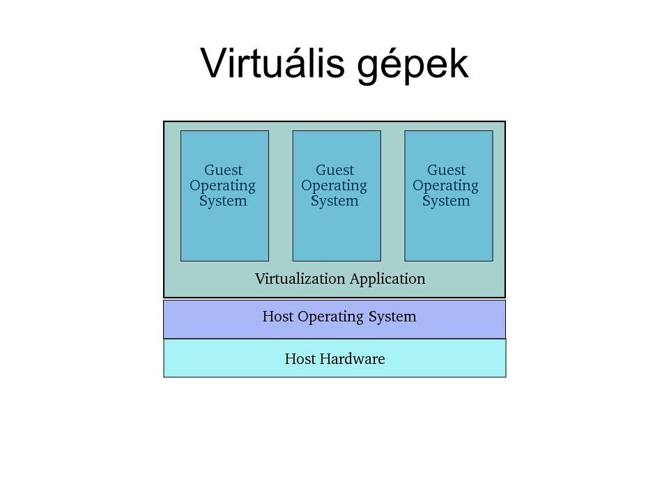 Virtuális gépek