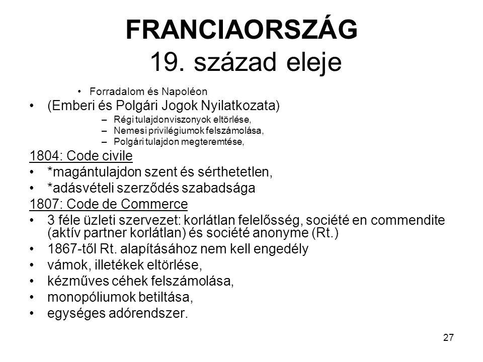 27 FRANCIAORSZÁG 19.