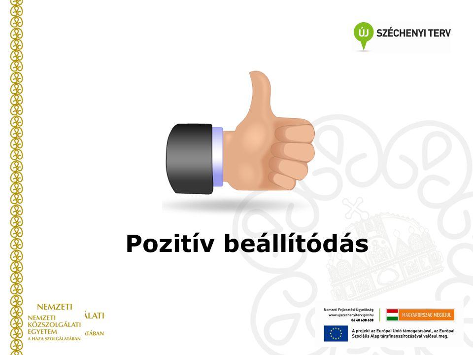 Pozitív beállítódás