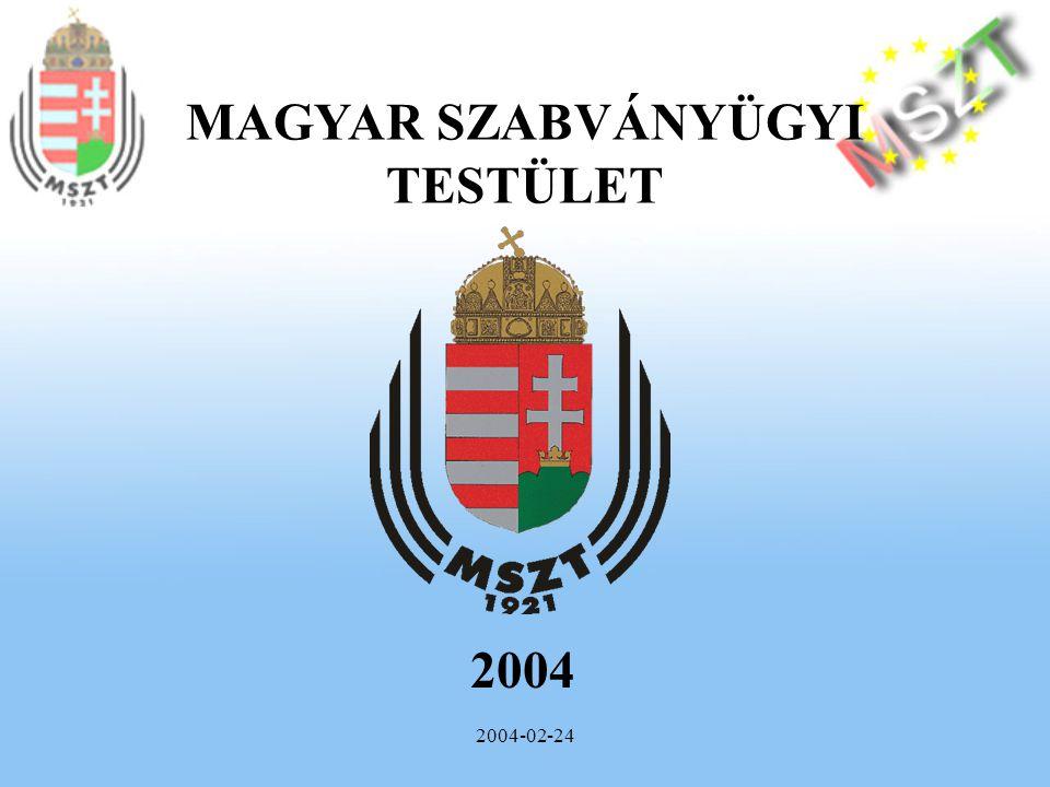 2004-02-24 A munkavédelemre és biztonságra vonatkozó új megközelítésű európai irányelvek és bevezetésük helyzete 2004.