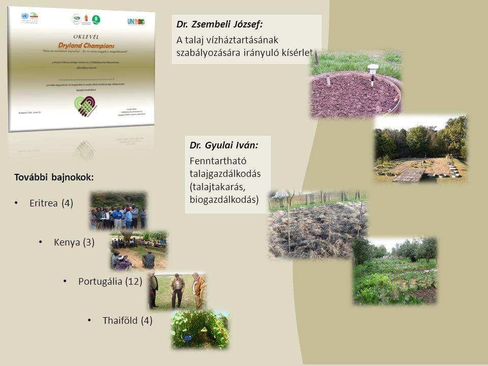 Dr. Gyulai Iván: Fenntartható talajgazdálkodás (talajtakarás, biogazdálkodás) Dr.