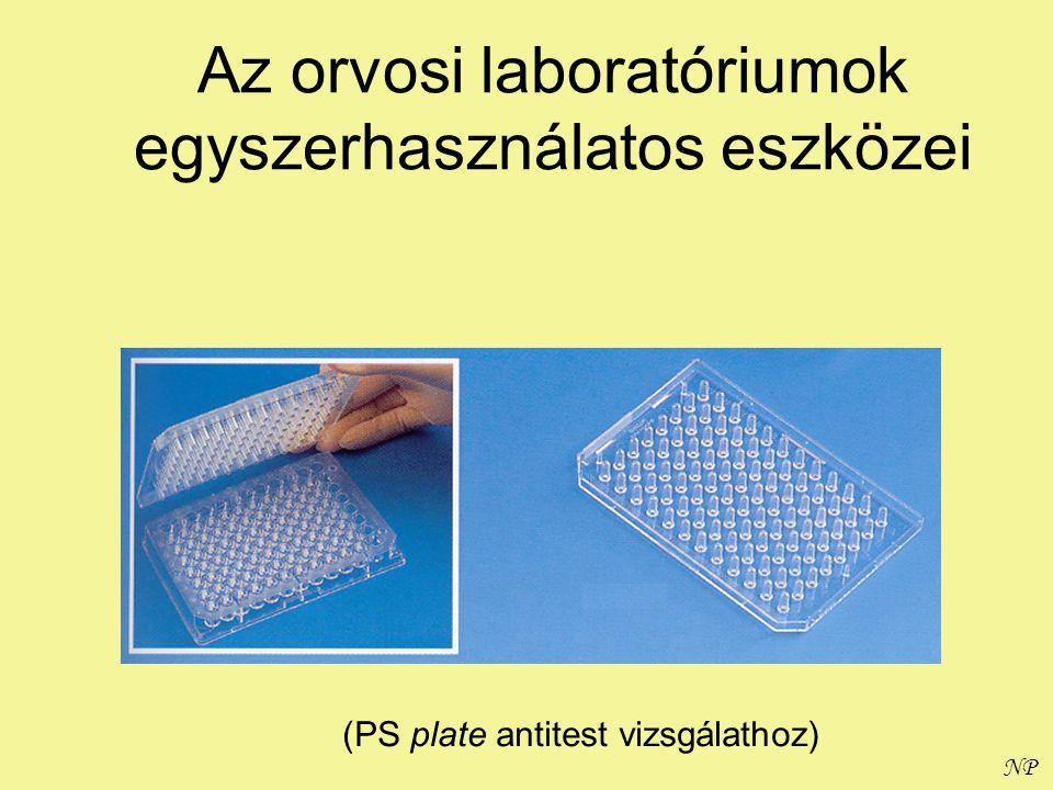 NP Az orvosi laboratóriumok egyszerhasználatos eszközei (PS plate antitest vizsgálathoz)