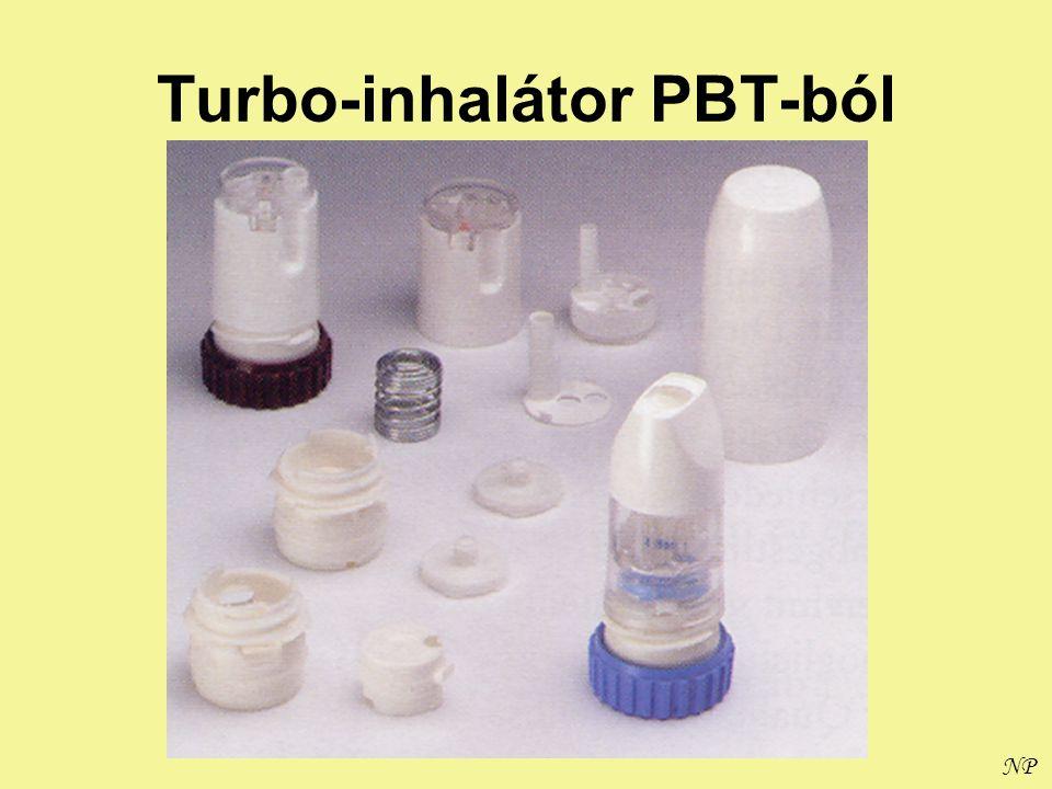 NP Turbo-inhalátor PBT-ból