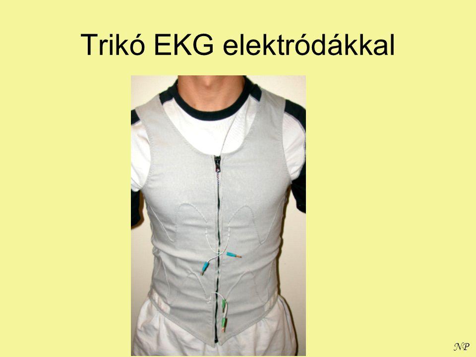 NP Trikó EKG elektródákkal