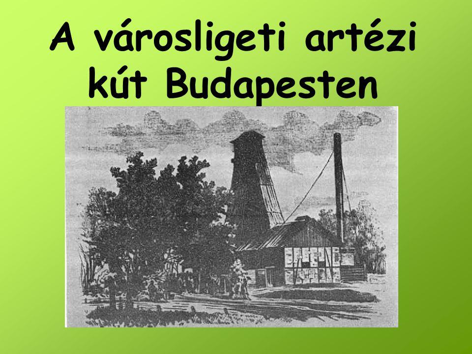 A városligeti artézi kút Budapesten
