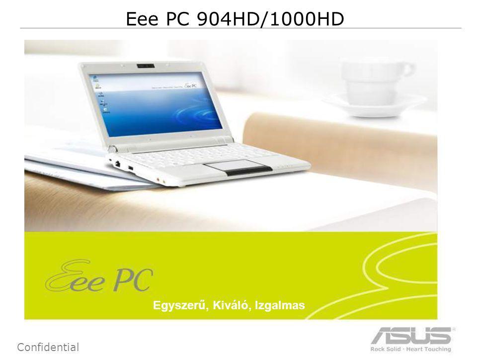 2 Confidential Eee PC 904HD/1000HD Egyszerű, Kiváló, Izgalmas