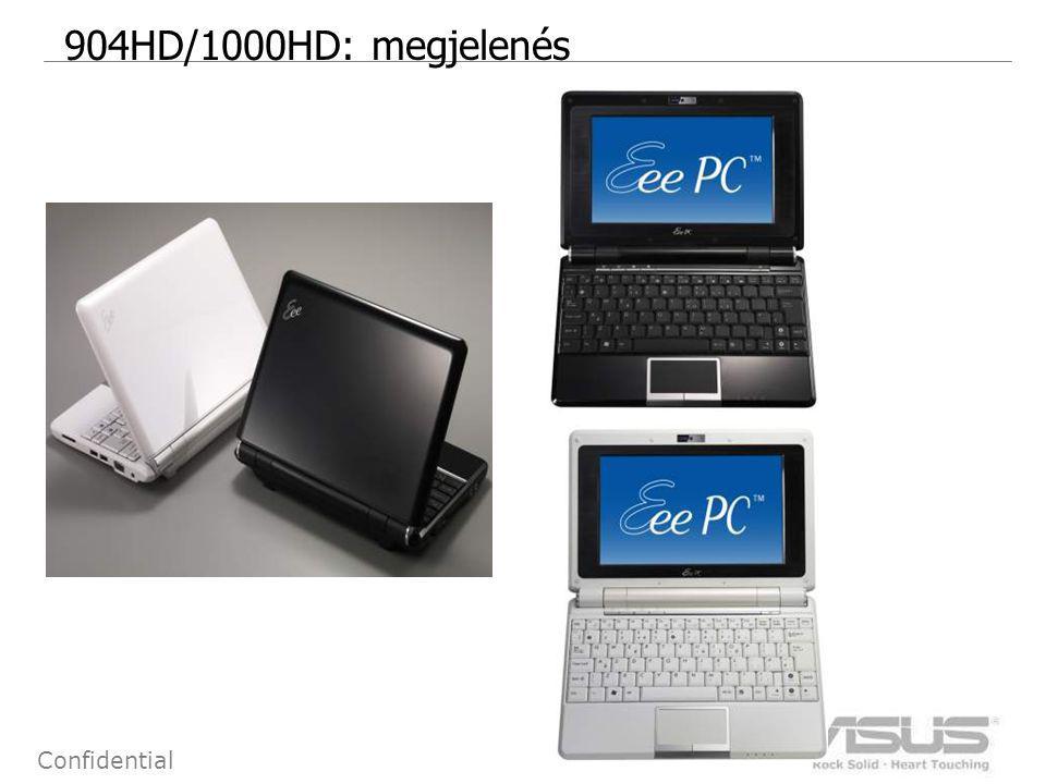 3 Confidential 904HD/1000HD: megjelenés