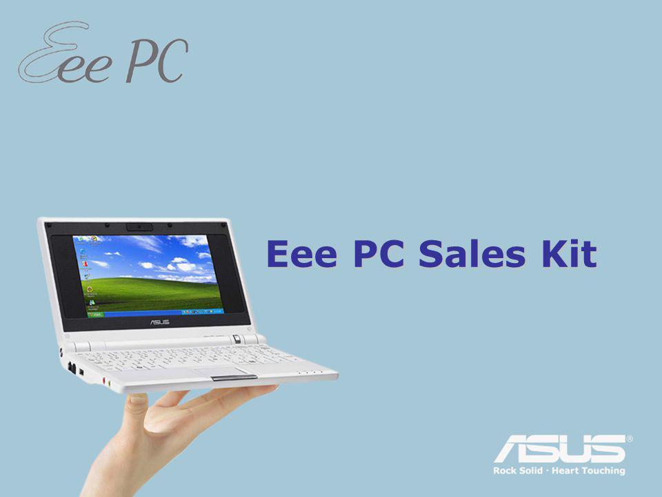 EeePC megjelenés Egyszerű tanulni, dolgozni és játszani Kiváló mobil internet-eszköz Izgalmas multimédiás élmény