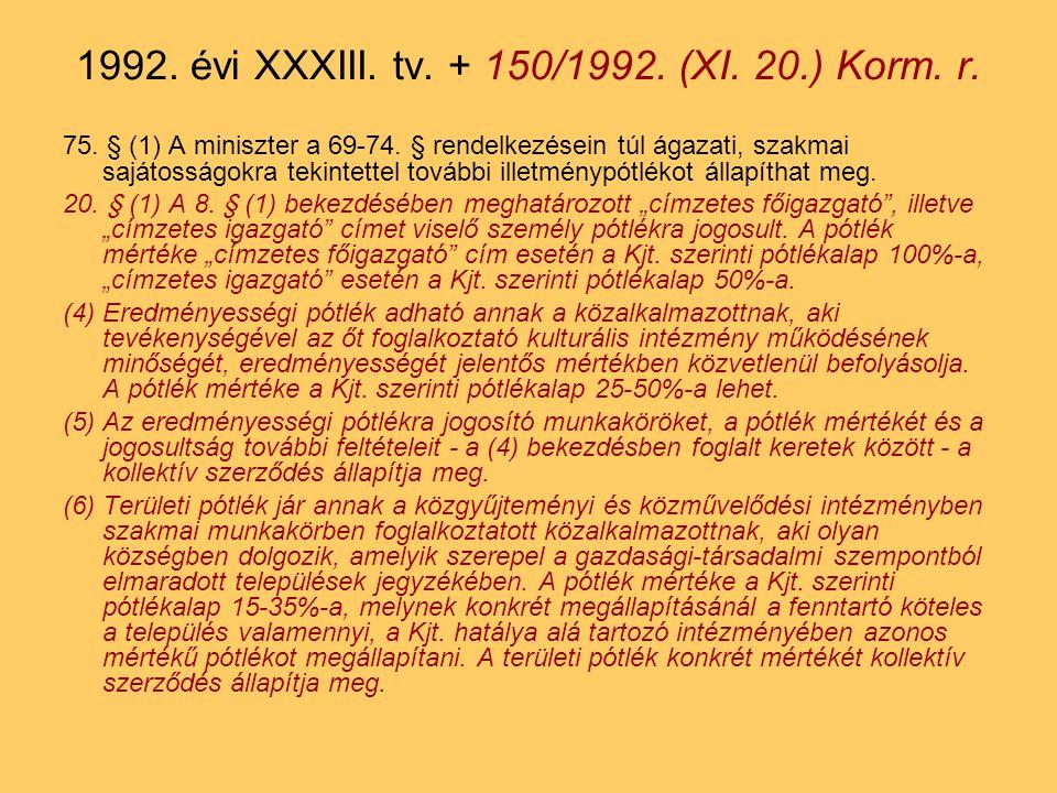 75.§ (1) A miniszter a 69-74.