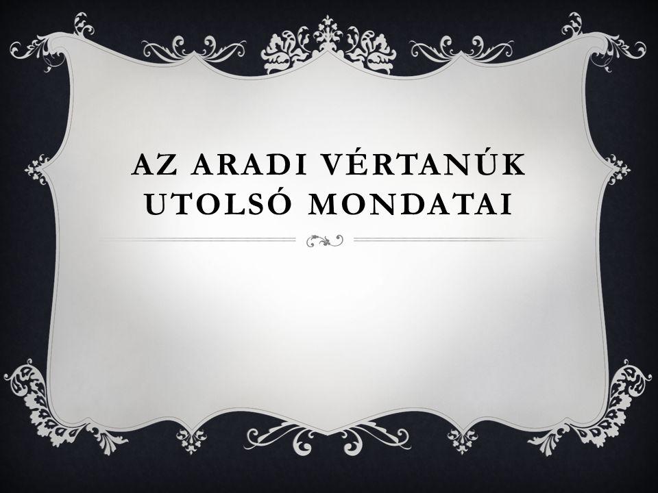 EMLÉKHELYEK, EMLÉKMŰVEK  A mai Magyarország területén több fontos emlékhely található.  Az egyik Kiskőrösön a Vértanúk fala-emlékmű, amely a helyi P