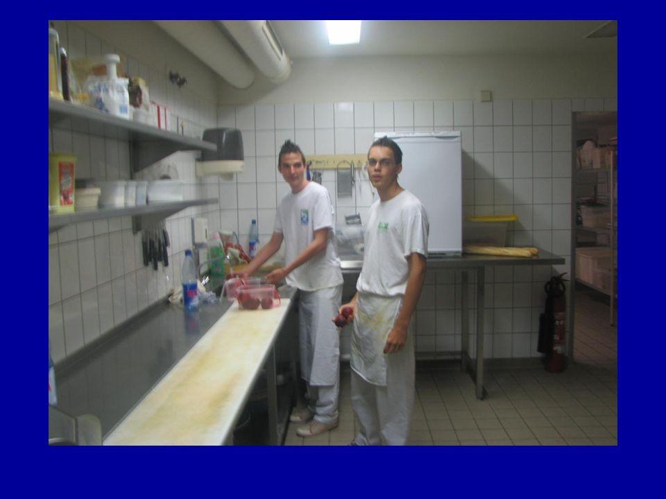 …és a szálláshelyünk konyháján