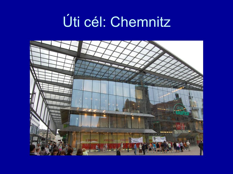 Úti cél: Chemnitz