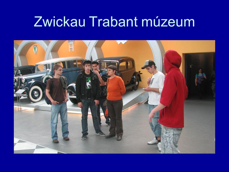 Zwickau Trabant múzeum