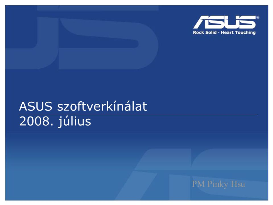 62 Confidential ASUS Splendid -Élénk képek, magasabb kontraszt, jobb színek és élesség.