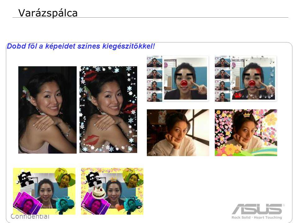 31 Confidential Varázspálca Dobd föl a képeidet színes kiegészítőkkel!