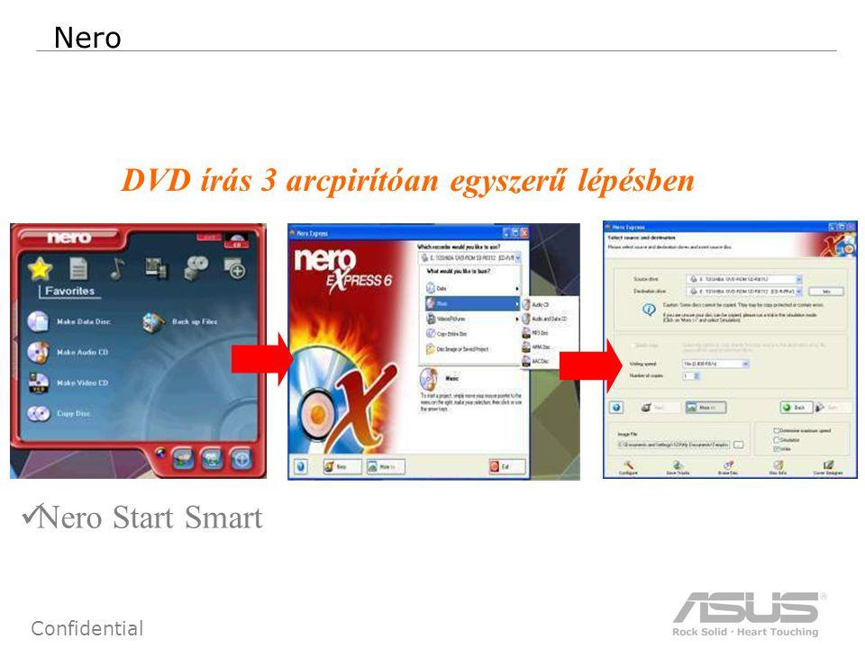 71 Confidential Nero Nero Start Smart DVD írás 3 arcpirítóan egyszerű lépésben
