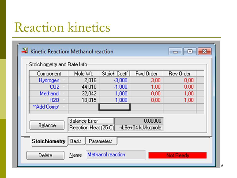 Reaction kinetics 6