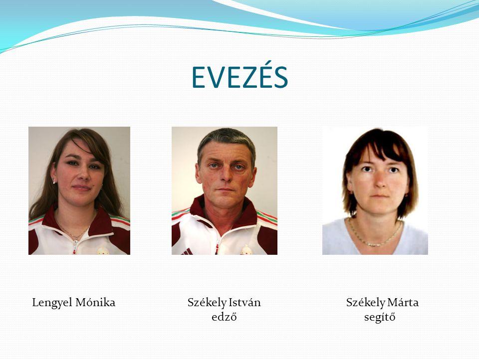 Lengyel MónikaSzékely István edző Székely Márta segítő