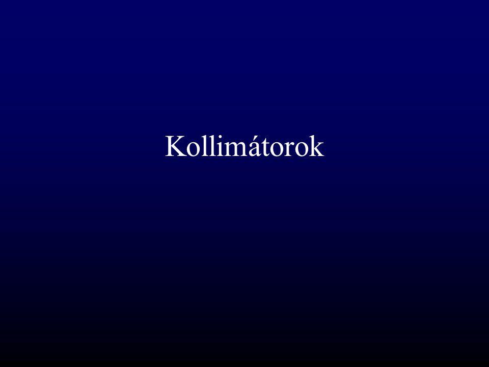 Kollimátorok