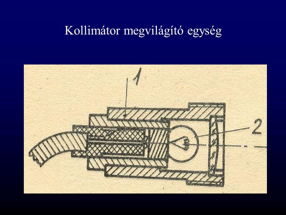 Tükrös kollimátor