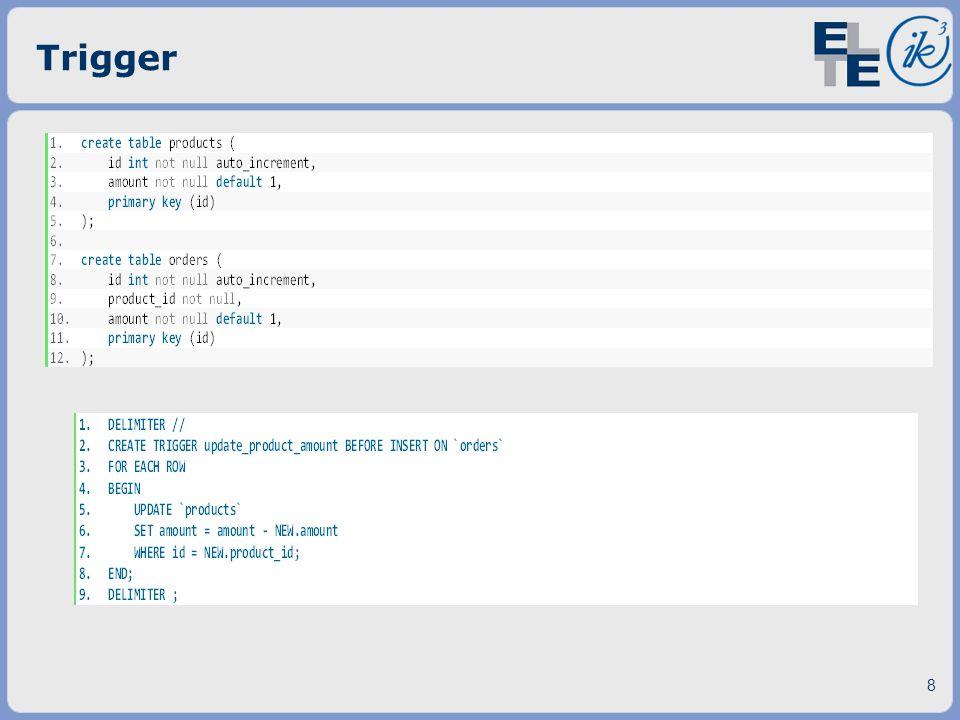 Trigger 8