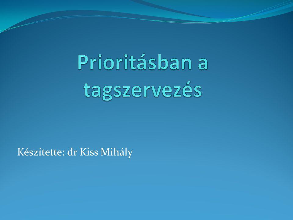 Készítette: dr Kiss Mihály