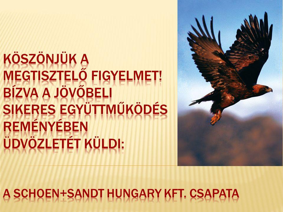 E-mail cím: info@schoen-sandt.huinfo@schoen-sandt.hu Telefonszám: 06 36/511-640 Honlapunk: http://ssh.schoen-sandt.hu/http://ssh.schoen-sandt.hu/ http