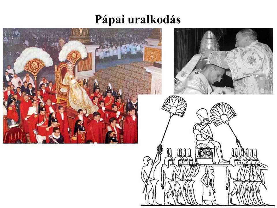 Pápai uralkodás