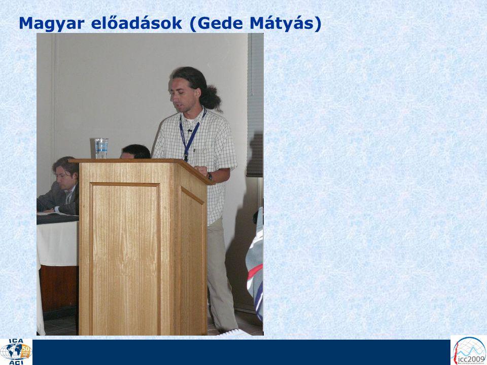 Magyar előadások (Gede Mátyás)