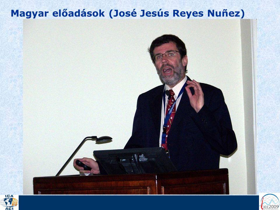 Magyar előadások (José Jesús Reyes Nuñez)