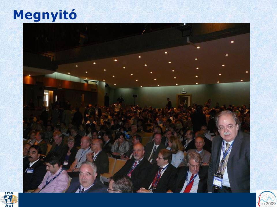 A konferencián összesen 444 előadás szerepelt 30 témakörbe csoportosítva, s emellett 69 poszterelőadás is szerepelt a programban.