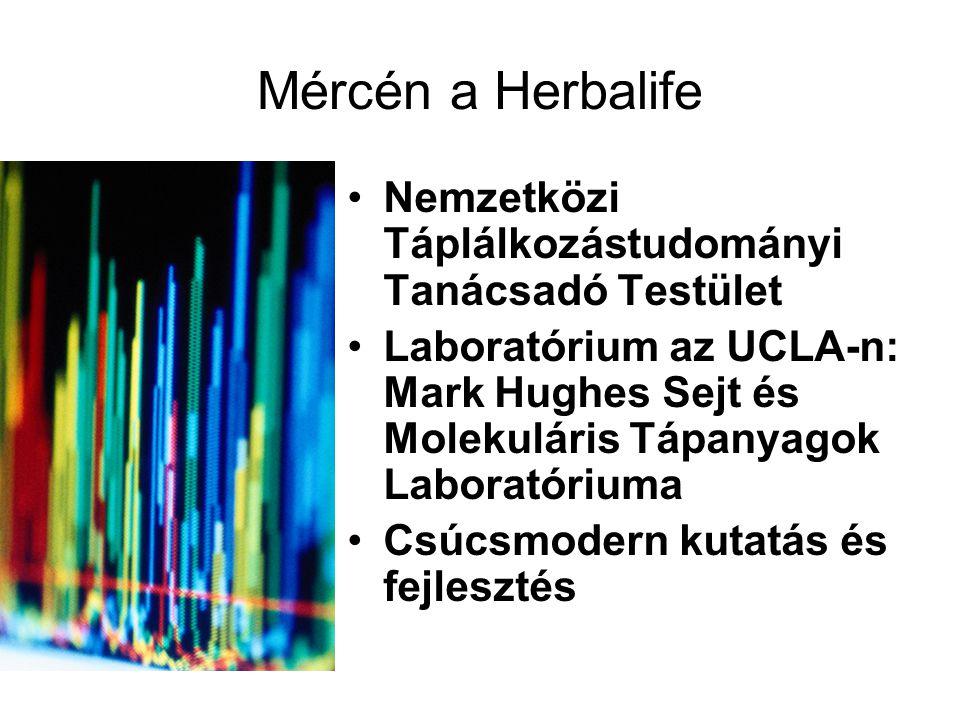 Mércén a Herbalife Nemzetközi Táplálkozástudományi Tanácsadó Testület Laboratórium az UCLA-n: Mark Hughes Sejt és Molekuláris Tápanyagok Laboratóriuma Csúcsmodern kutatás és fejlesztés