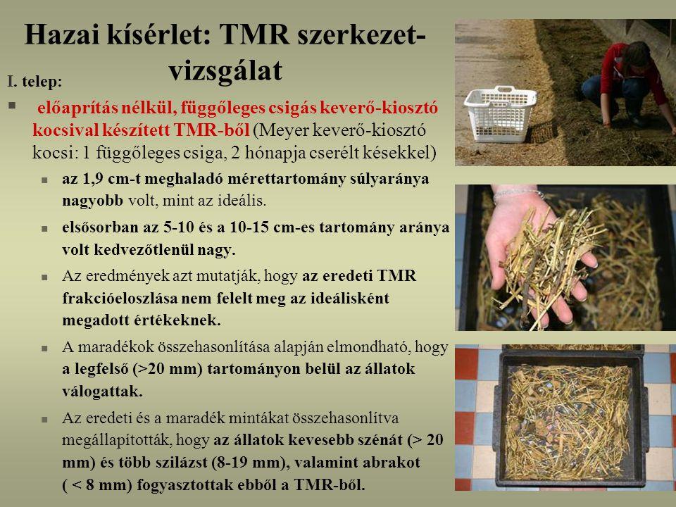 Hazai kísérlet: TMR szerkezet- vizsgálat I.