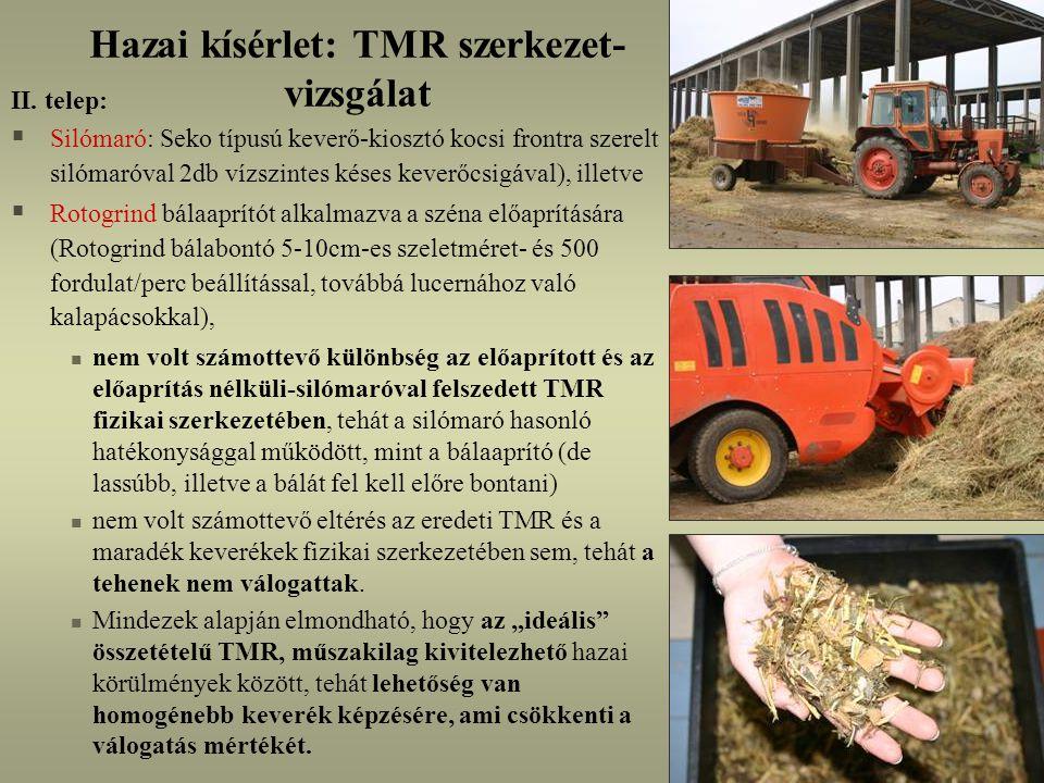 Hazai kísérlet: TMR szerkezet- vizsgálat II.