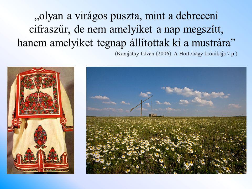 Irodalomjegyzék Balogh István (1943): A hortobágyi pásztorkodás történelmi multja.