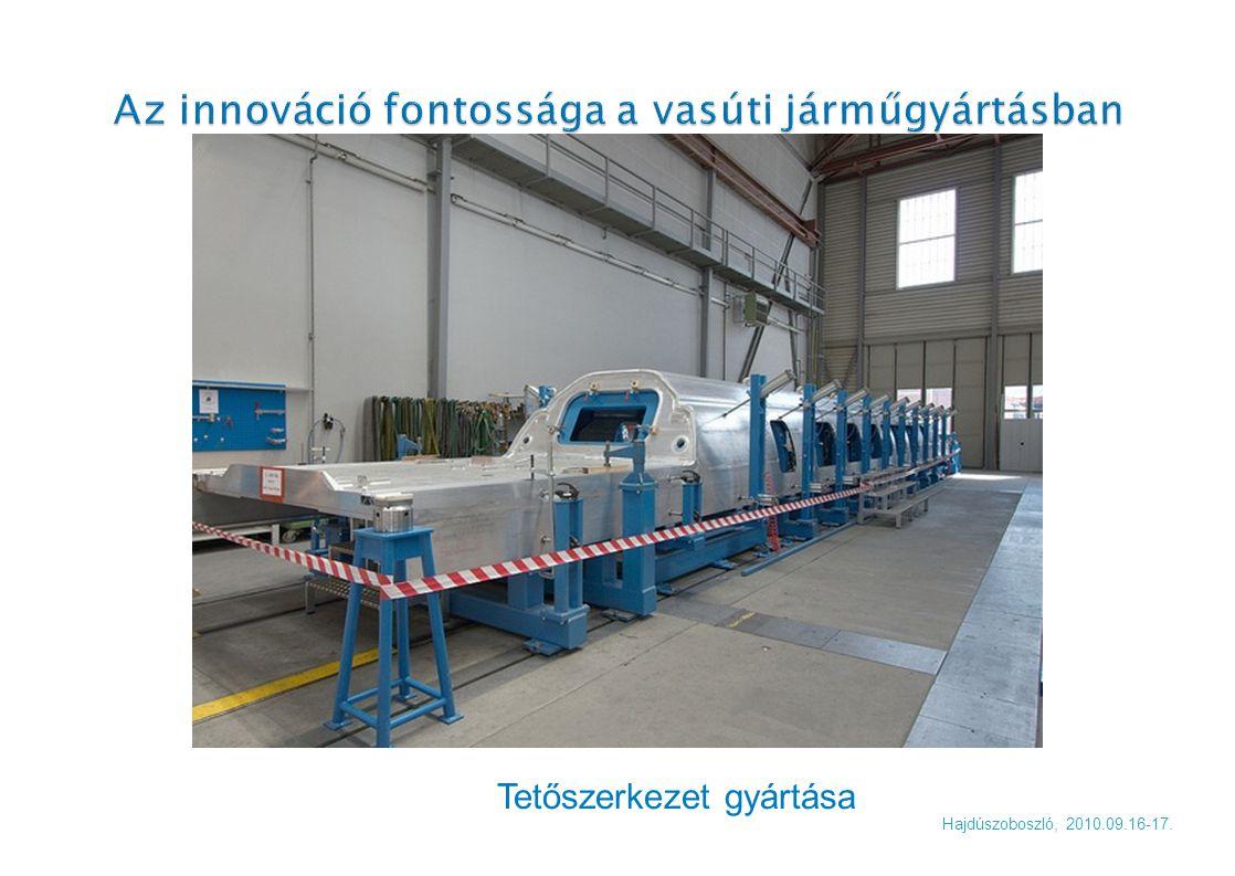 Tetőszerkezet gyártása