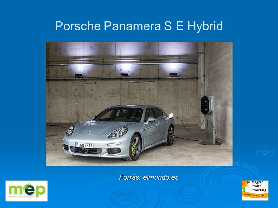 Porsche Panamera S E Hybrid Forrás: elmundo.es