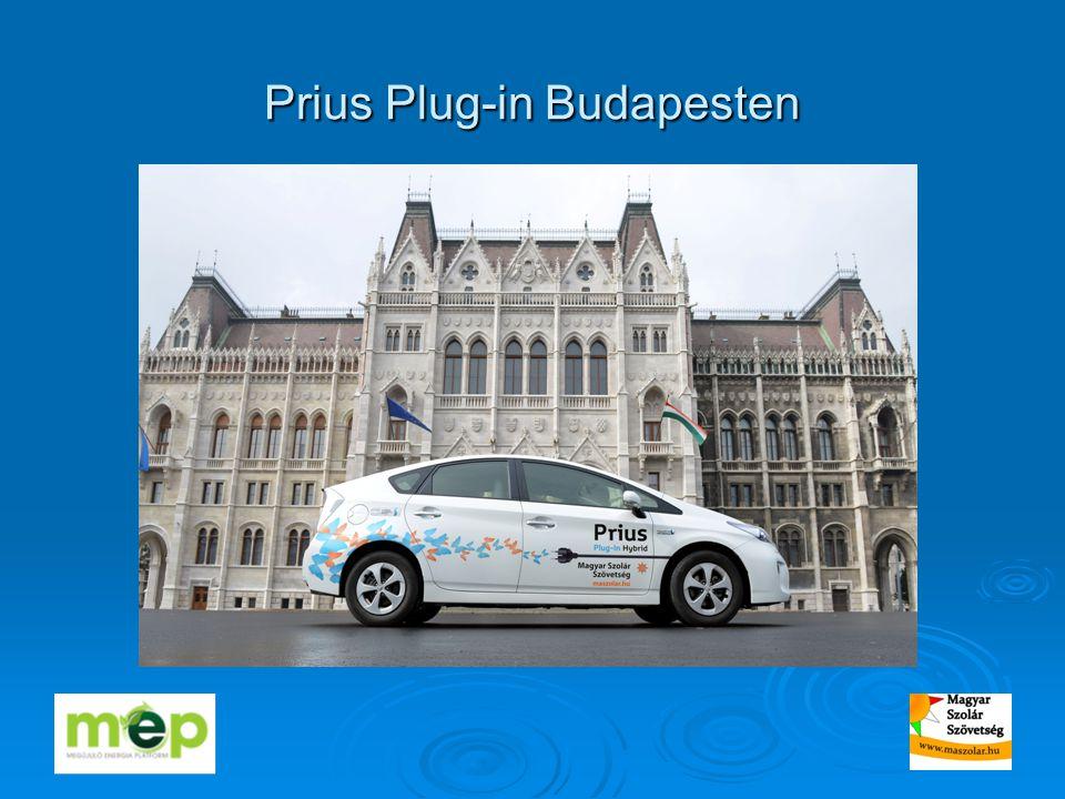 Prius Plug-in Budapesten