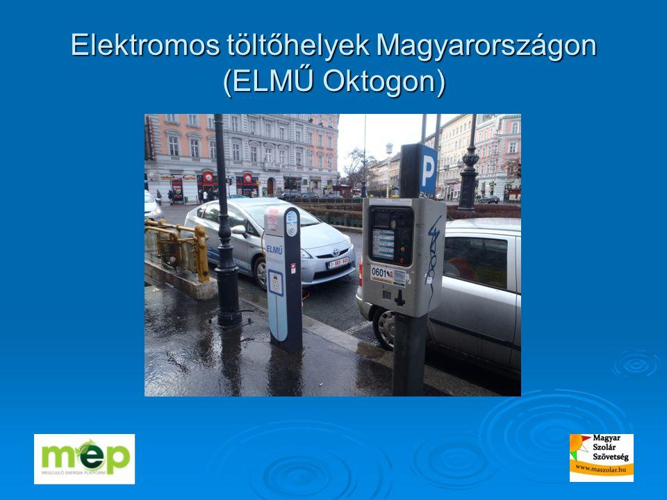 Elektromos töltőhelyek Magyarországon (ELMŰ Oktogon)