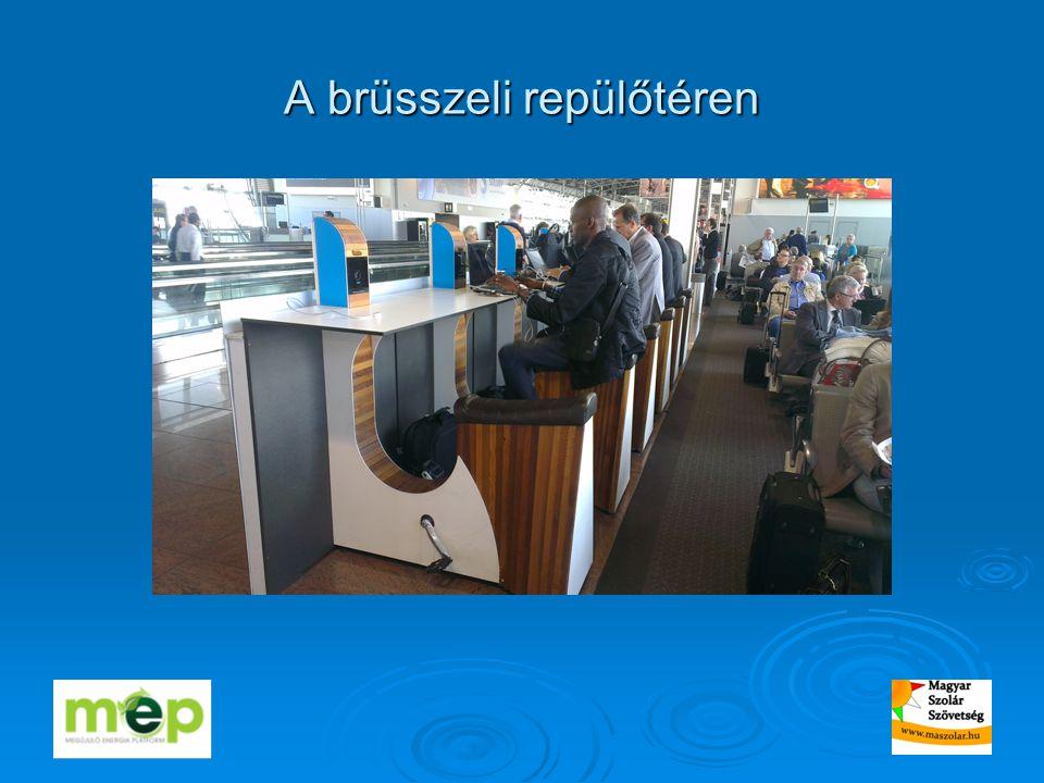 A brüsszeli repülőtéren