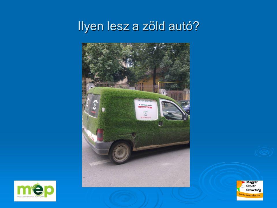 Ilyen lesz a zöld autó