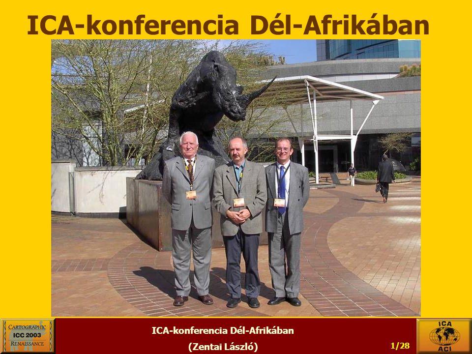 ICA-konferencia Dél-Afrikában (Zentai László) 1/28 ICA-konferencia Dél-Afrikában