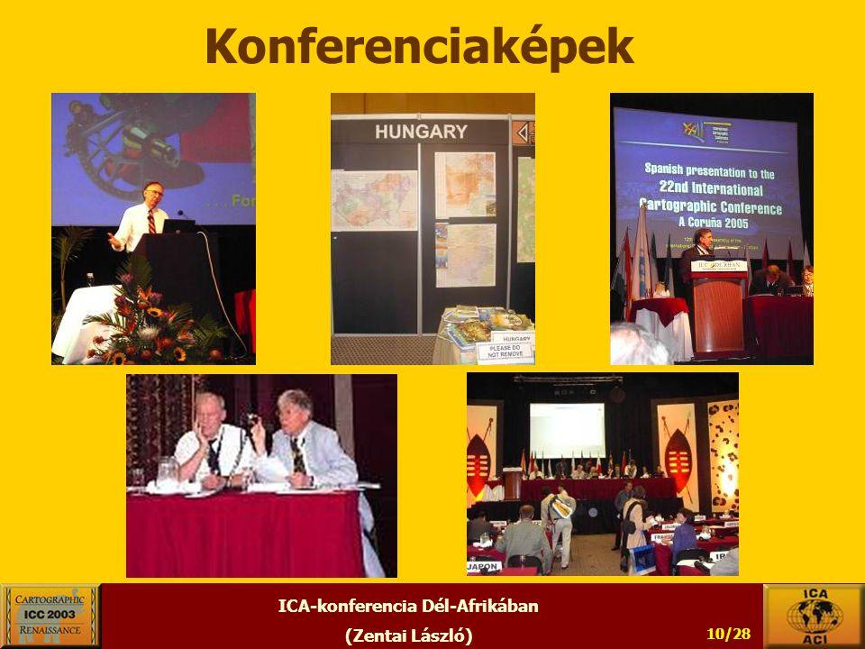ICA-konferencia Dél-Afrikában (Zentai László) 10/28 Konferenciaképek