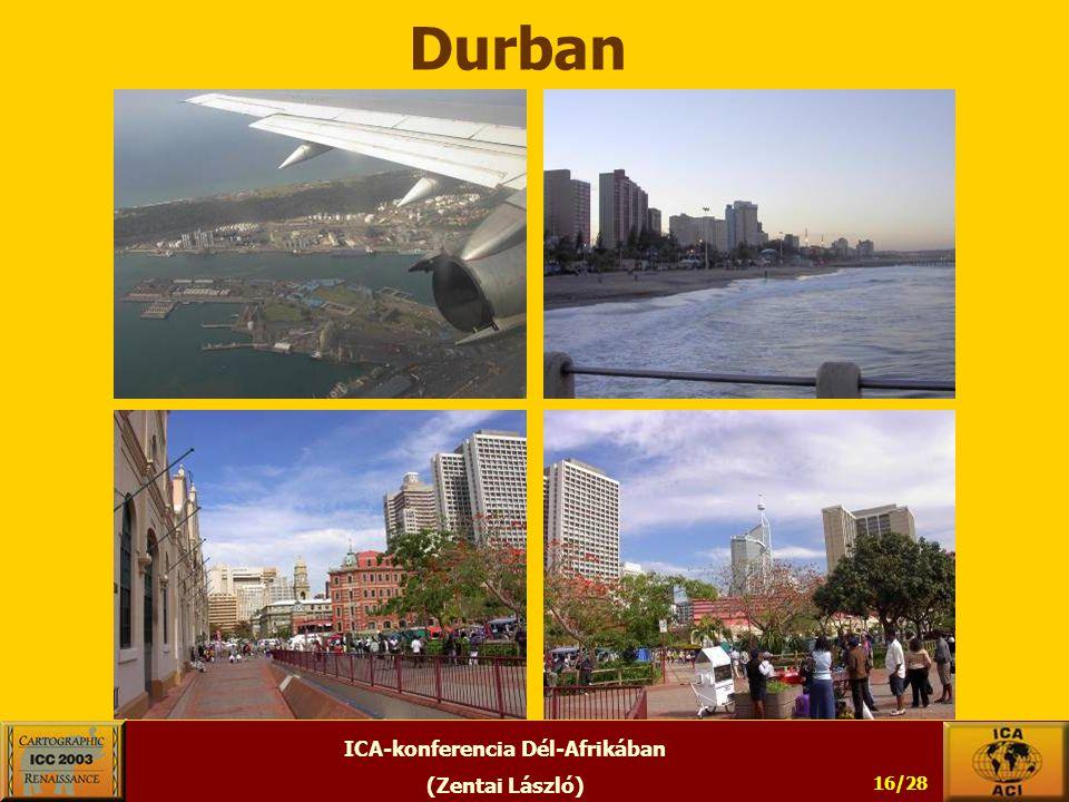 ICA-konferencia Dél-Afrikában (Zentai László) 16/28 Durban