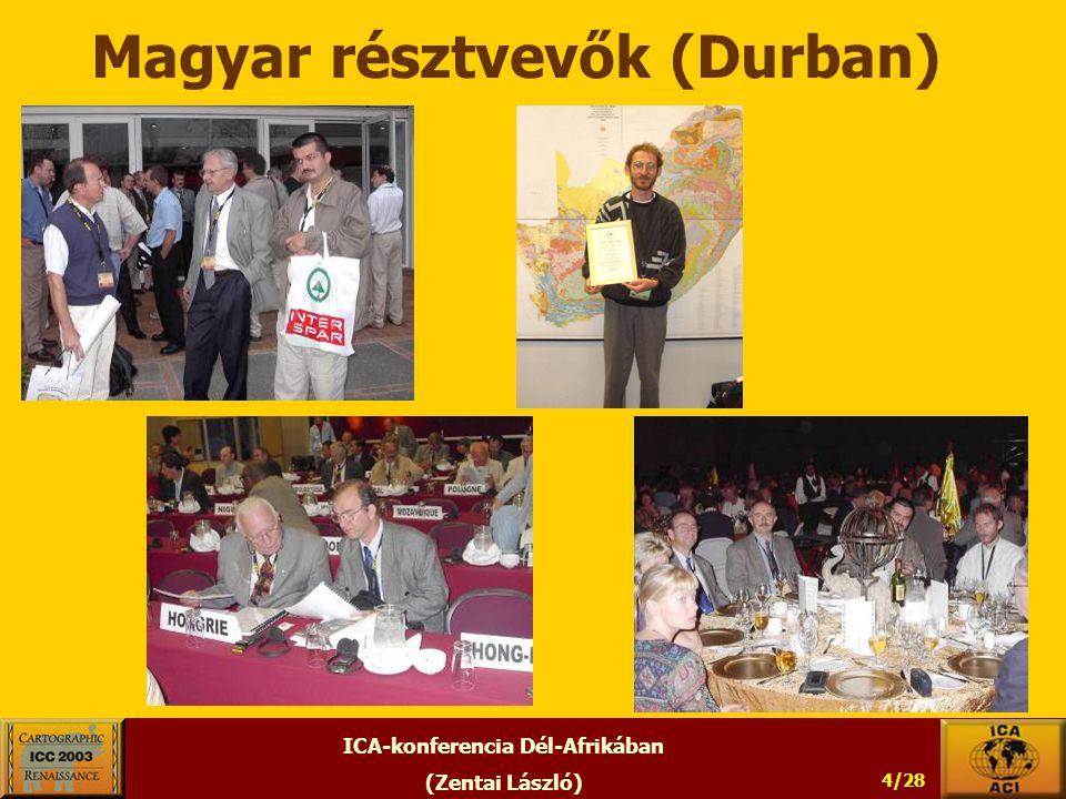ICA-konferencia Dél-Afrikában (Zentai László) 4/28 Magyar résztvevők (Durban)