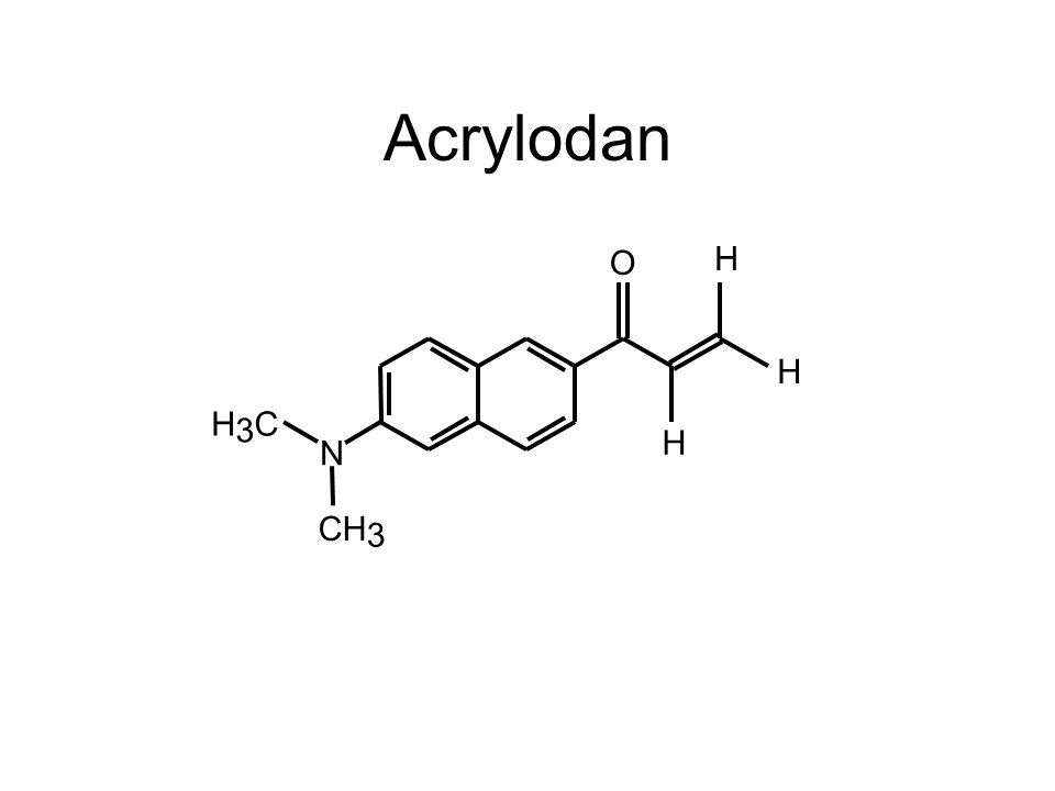 Acrylodan N O H H H H 3 C CH 3