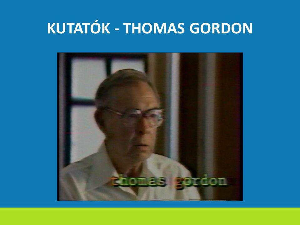 KUTATÓK - THOMAS GORDON