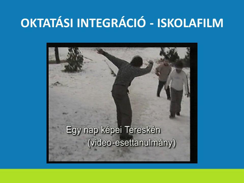 OKTATÁSI INTEGRÁCIÓ - ISKOLAFILM