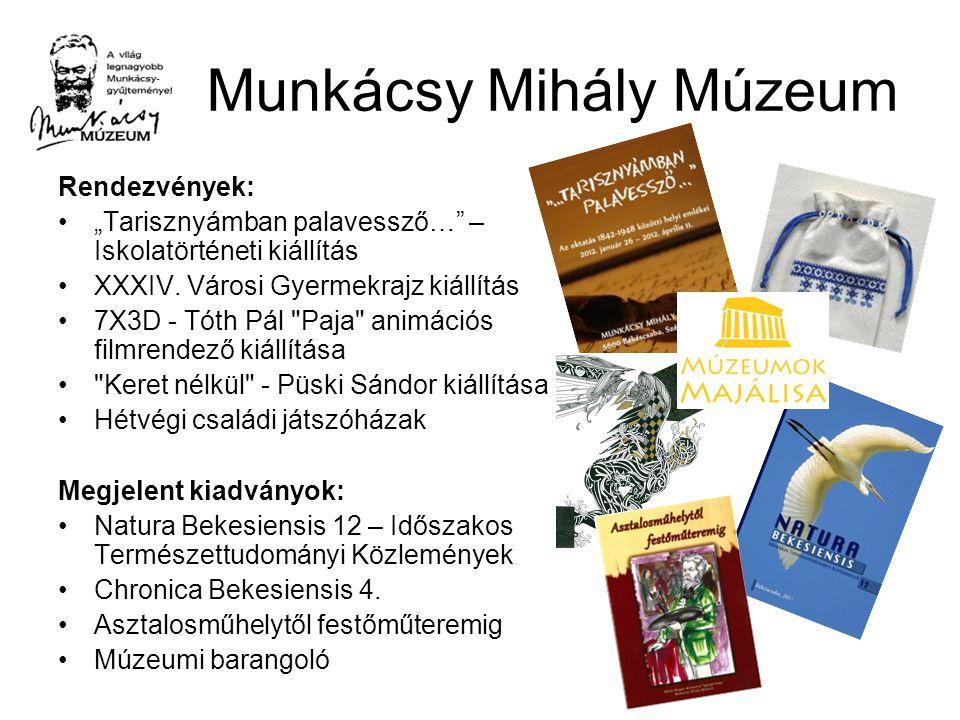 """Munkácsy Mihály Múzeum Rendezvények: """"Tarisznyámban palavessző… – Iskolatörténeti kiállítás XXXIV."""